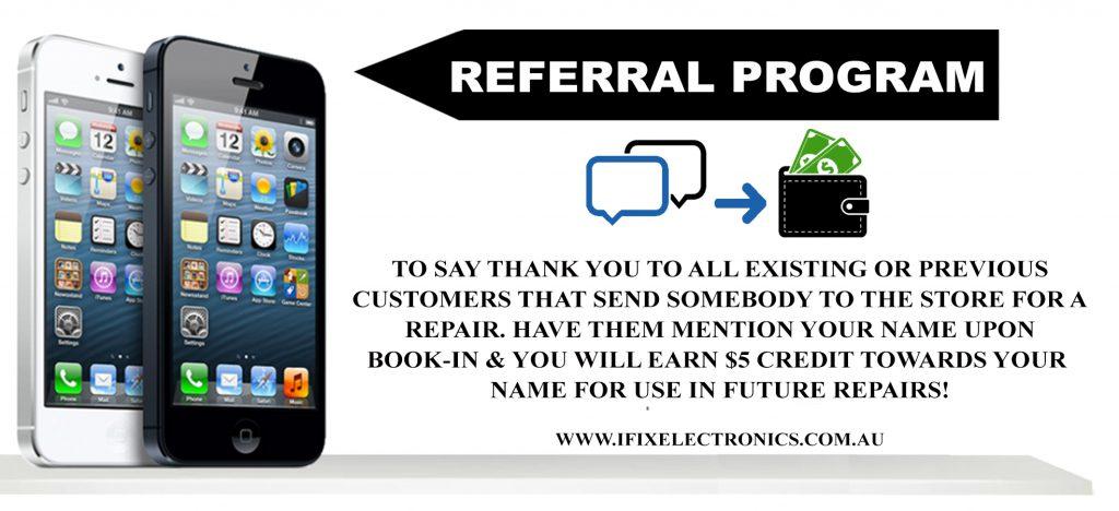 Referral Program – iFix Electronics Erina
